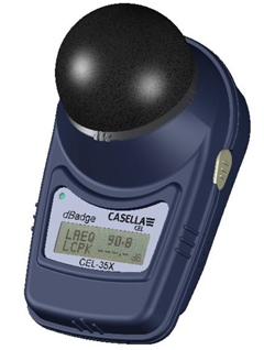 Casella dBadge 350 Personal Sound Exposure (Dose) Meter Kit (Set of 3)