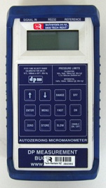 DPM TT570 Digital Manometer IANZ Certification