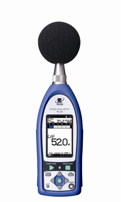 Rion NL-52EX-RT Class 1 Sound Level Meter with Octave Analysis
